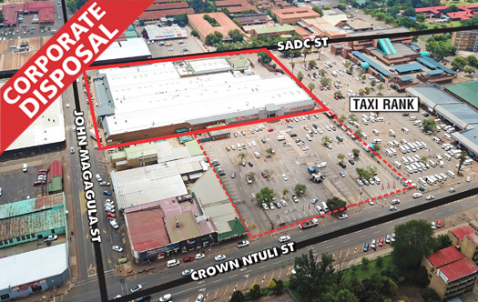 Corporate Disposal - Shoprite Middelburg